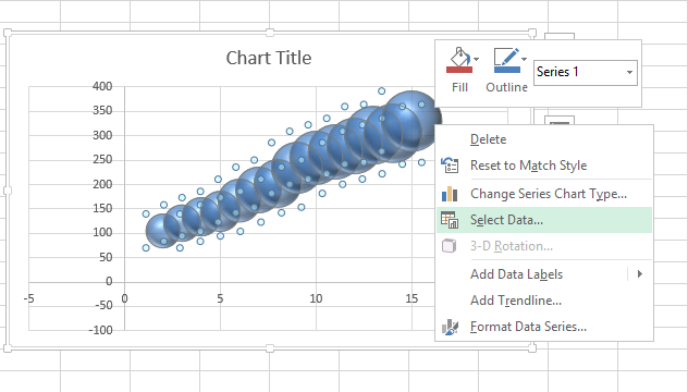 excel bubble chart 2 bubble chart in excel