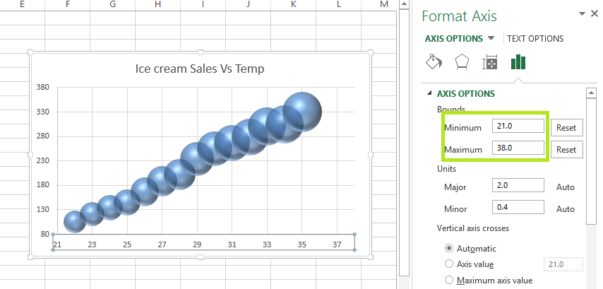 excel bubble chart 5 bubble chart in excel