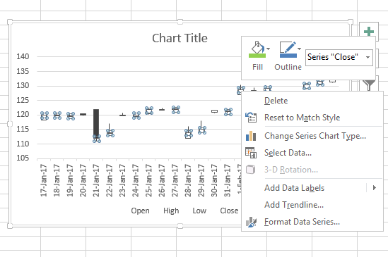 stock chart in excel 5