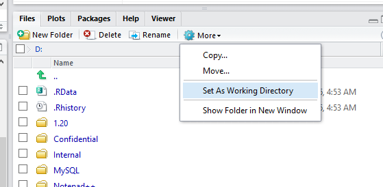 set working directory in r 3