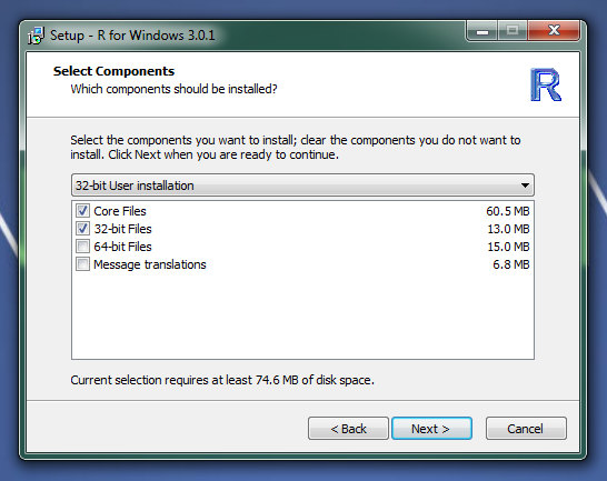 how to install r on windows