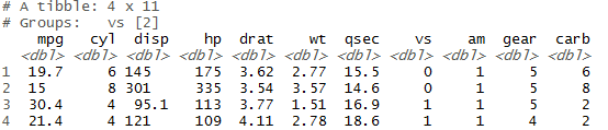 head() and tail() function in r slice(),top_n() 11