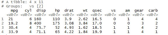 head() and tail() function in r slice(),top_n() 12