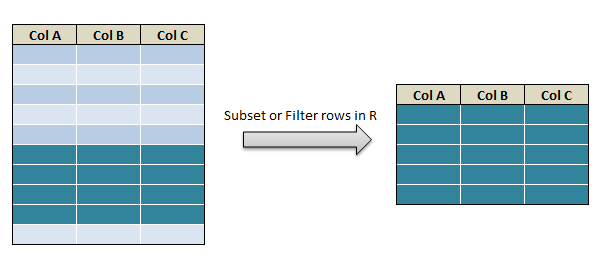 subset or filter in R 17